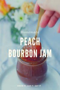 Peach Bourbon Jam