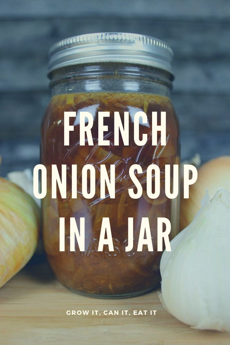 French Onion Soup in a Jar