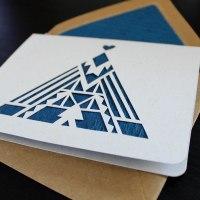 Hand Cut Card