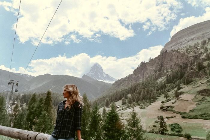Zermatt, Switzerland vacation and nature hike
