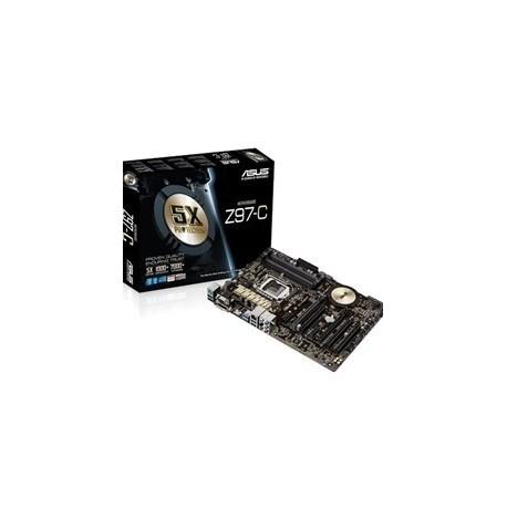 PLACA BASE ASUS INTEL Z97 C SOCKET 1150 DDR3X4 1600MHZ 32GB HDMI ATX Caja Registradora