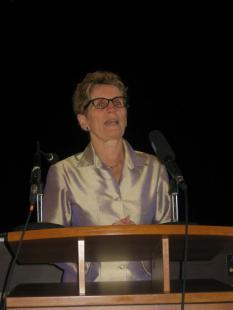 Kathleen Wynne, MPP, importance of brining communities together