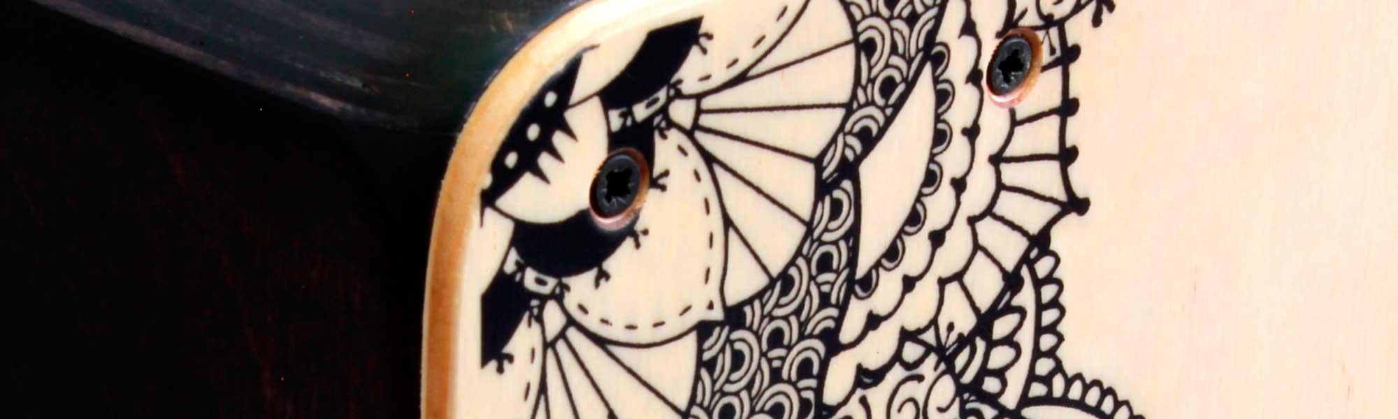 Personaliza tu cajon flamenco