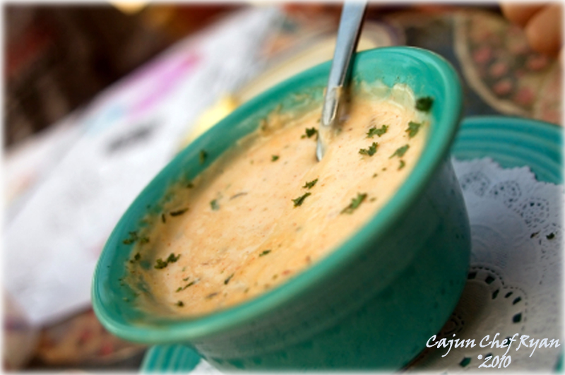 Creole Crab and Corn Soup