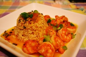 Sweet and Spicy Shrimp Lenten season