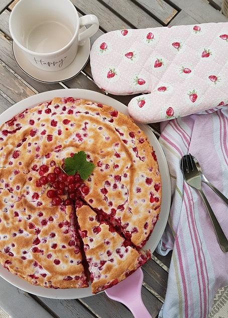 Johannisbeerkuchen mit Baiser von Cake Confession