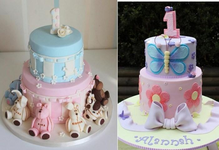 Beautiful 1st Birthday Cakes Cake Geek Magazine