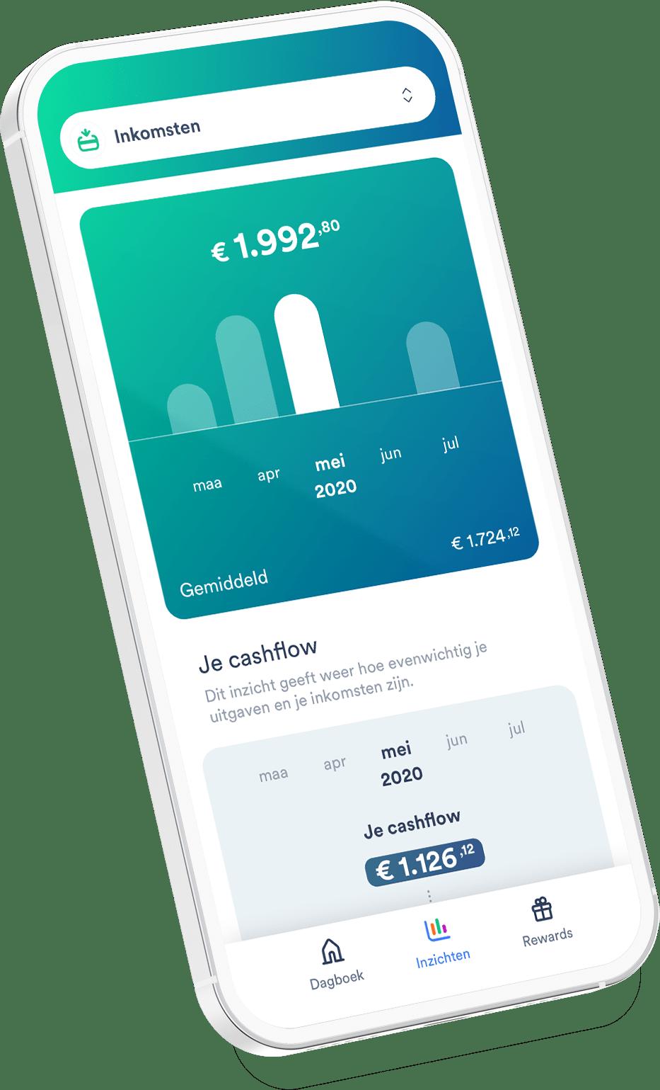 Cake app Income