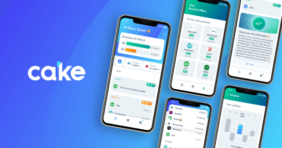 10 reasons to use the Cake banking app