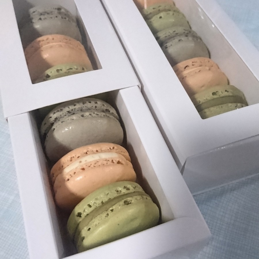 Asian flavoured macarons