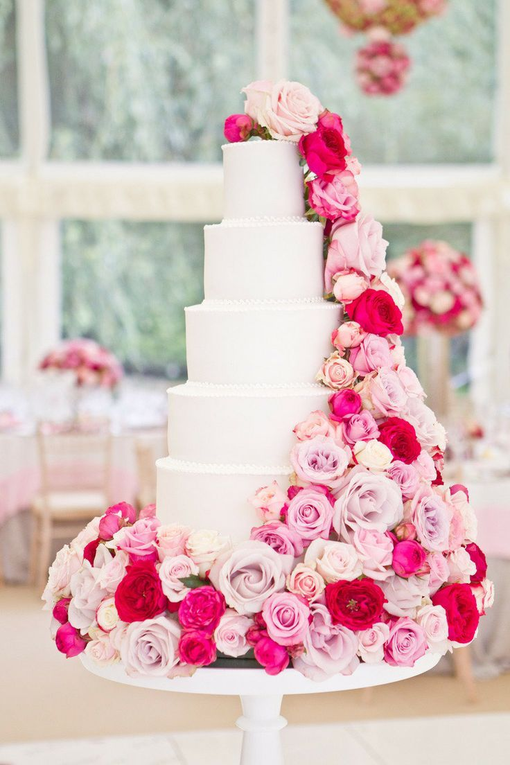 beautiful white and pink wedding cakes 1     Cakealicious Cakes Cakealicious Cakes