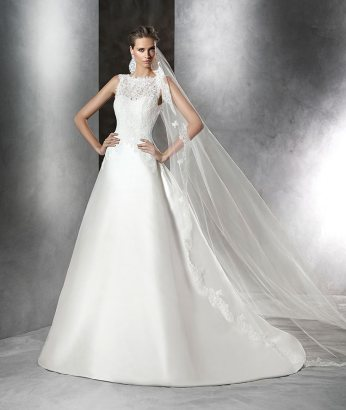 Prat Wedding Dress - Pronovias