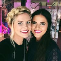 Rach Parcell & Amber Fillerup at the Calia by Carrie Presentation