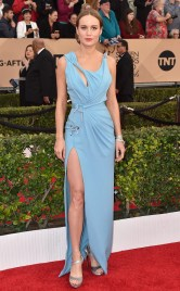 Brie Larson in Versace - SAG Awards 2016