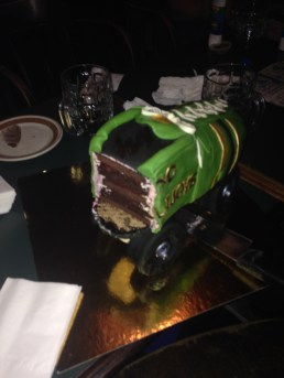Roller derby birthday party