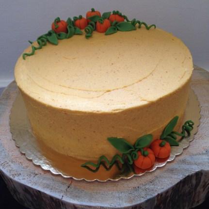 Gluten free pumpkin spice cake.