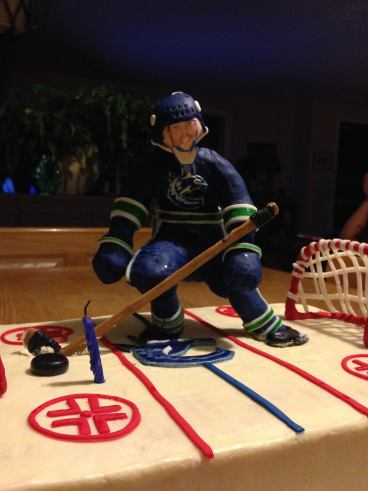 Canucks Hockey birthday party