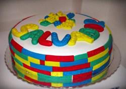 Bolo do Lego