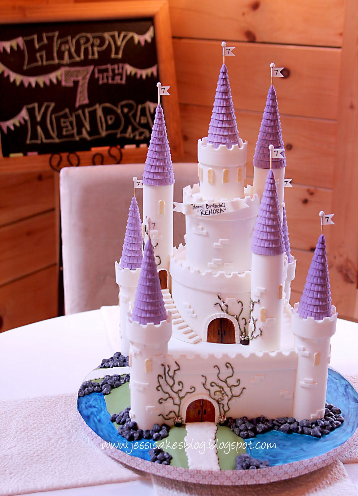 The Castle Cake How To Make Turrets With Jessi