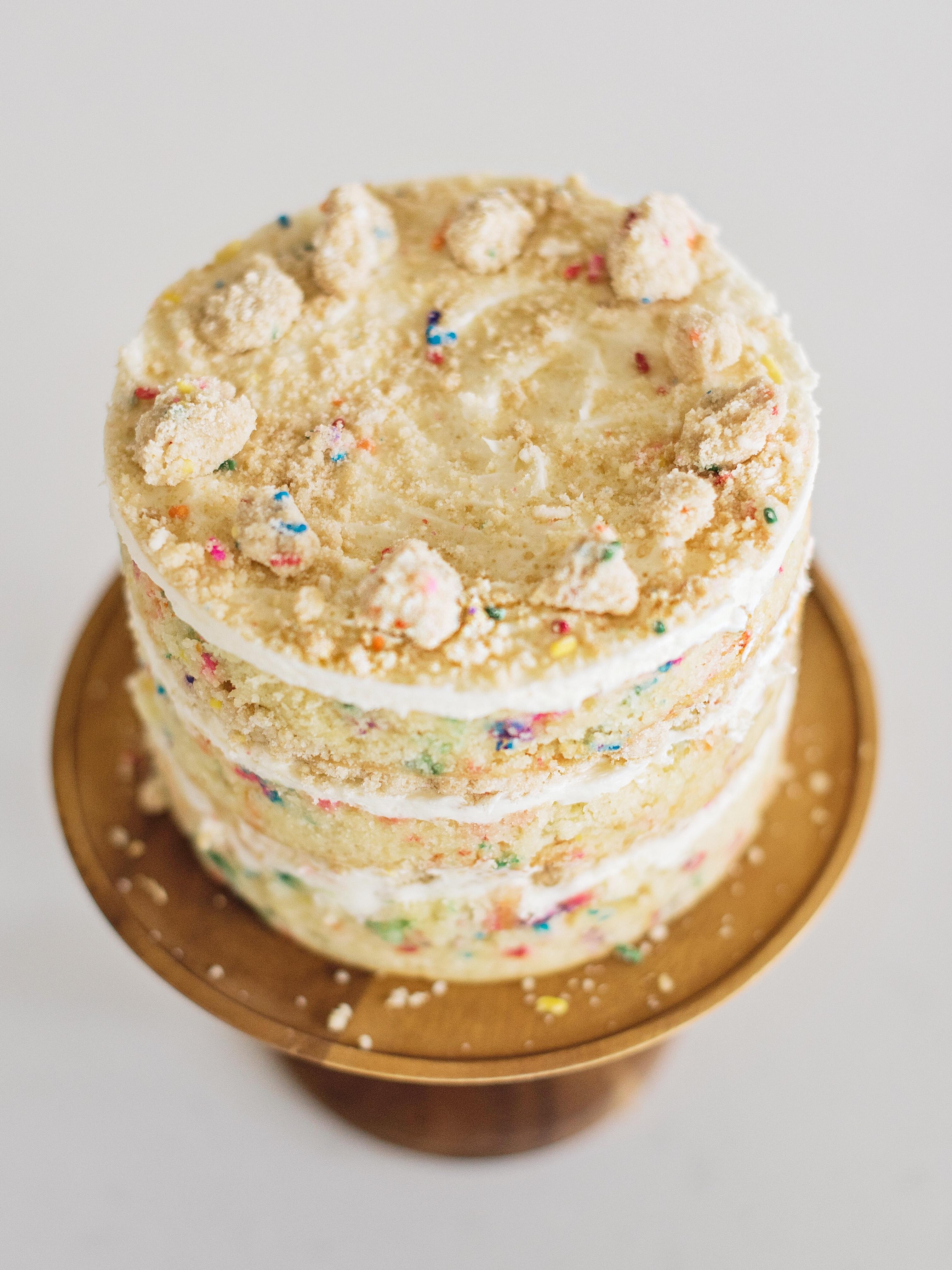 Milk Bar Birthday Cake Cake By Courtney