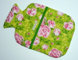 Rose patterned hottie cover