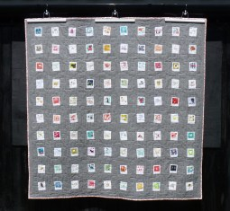 Memories of childhood Polaroid quilt