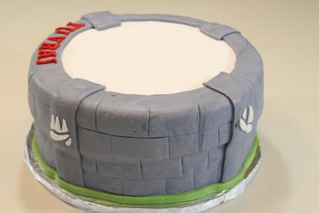 Skylander Giants Cake