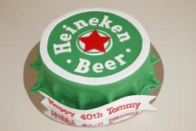 Heineken Cake