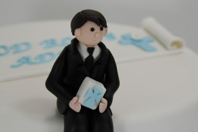 First Holy Communion Cake - Boy Topper