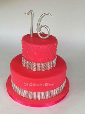 Sweet 16 Bling Cake
