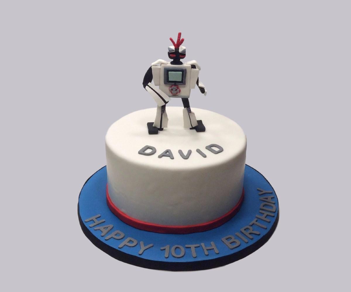 Lego Mindstorms Robot Cake