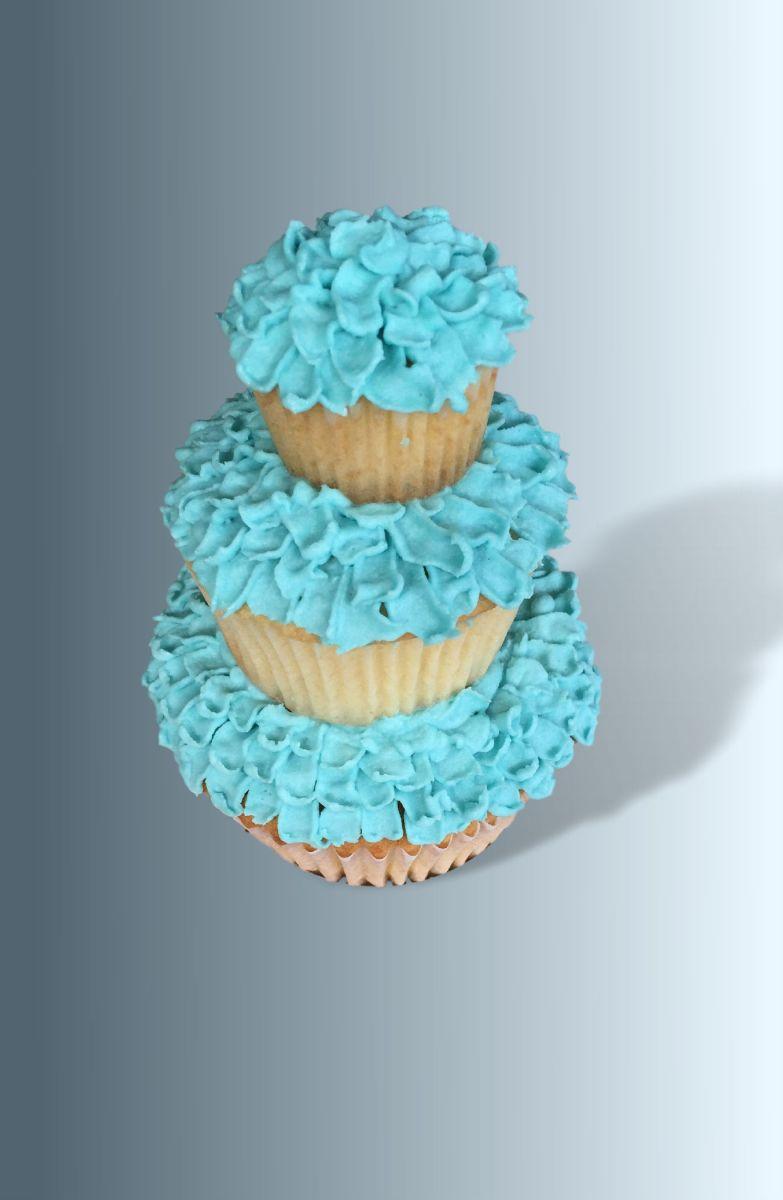 Triple Tier Cupcake