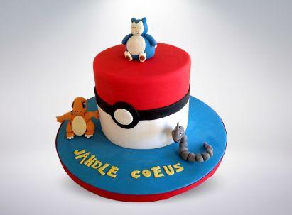 Pokemon Go Cake