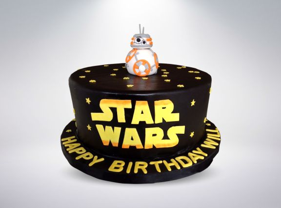 Star Wars BB8 Cake