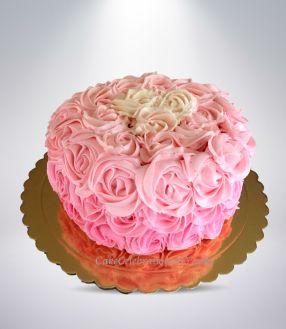 Pink-Umbre-Rose-Cake-1