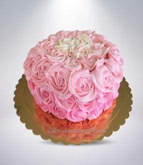 Pink-Umbre-Rose-Cake-2