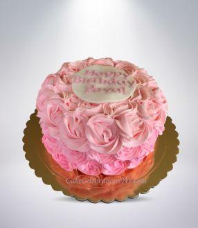 Pink-Umbre-Rose-Cake-3