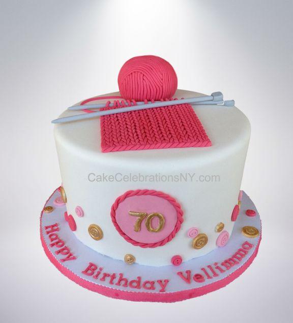 Knitting Cake Cake Celebrations