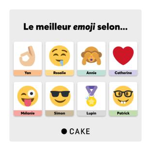 Les emojis sont essentiels pour exprimer ce que les mots ne peuvent pas dire. Et voici les plus utilisés par les Cakiens ⬇️ Dites-nous lequel est VOTRE préféré dans les commentaires!