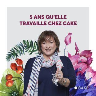 Une demi-décennie que tu mets du « poivre su'l feu » chez Cake chère Mel! 💜