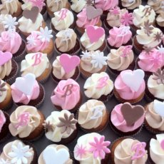 wedding cupcakes roze
