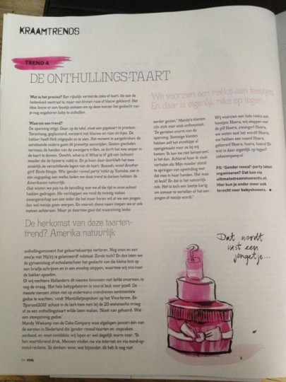 Interview met de Cake Company in de Viva Mama