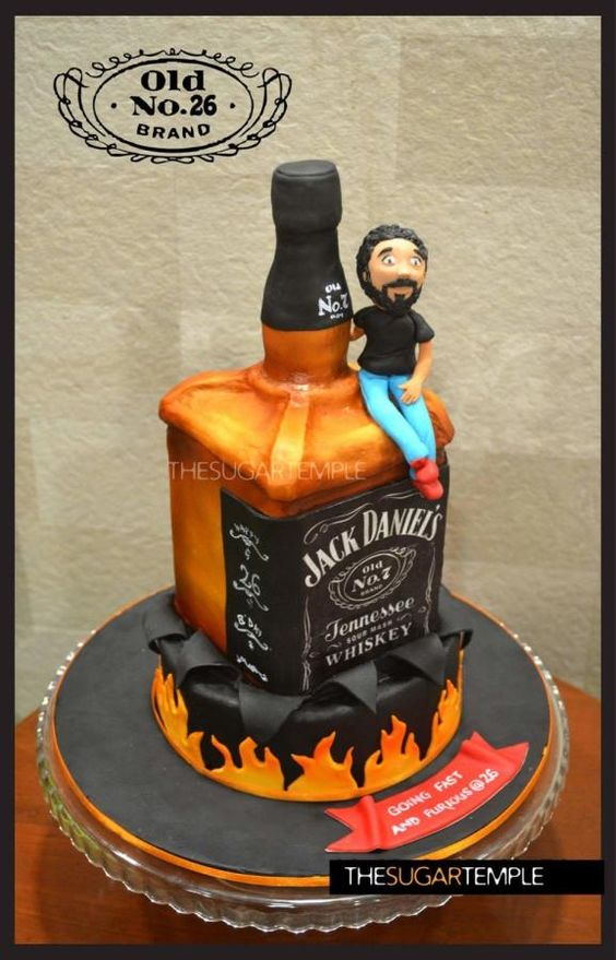 Jack Daniels Cake Tutorials Cake Ideas For Men Jd Theme Cake