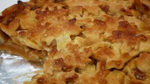 Tarta de manzana otoñal