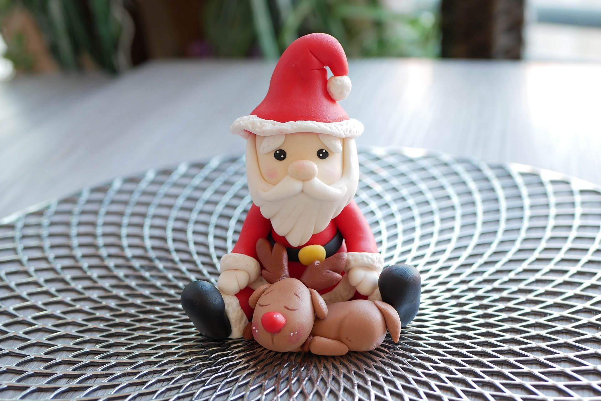 Modelado de Santa Claus