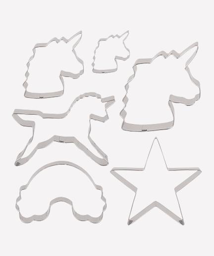 Cortadores de Galletas Unicornio