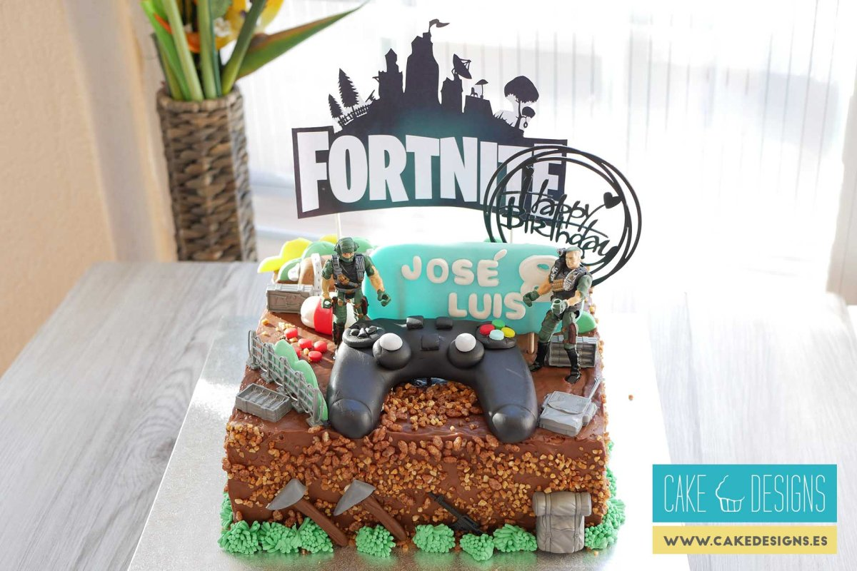 Tarta Fortnite