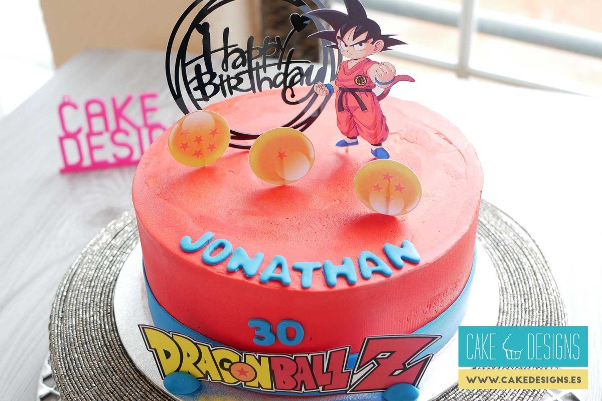 Tarta de Goku - Dragon ball