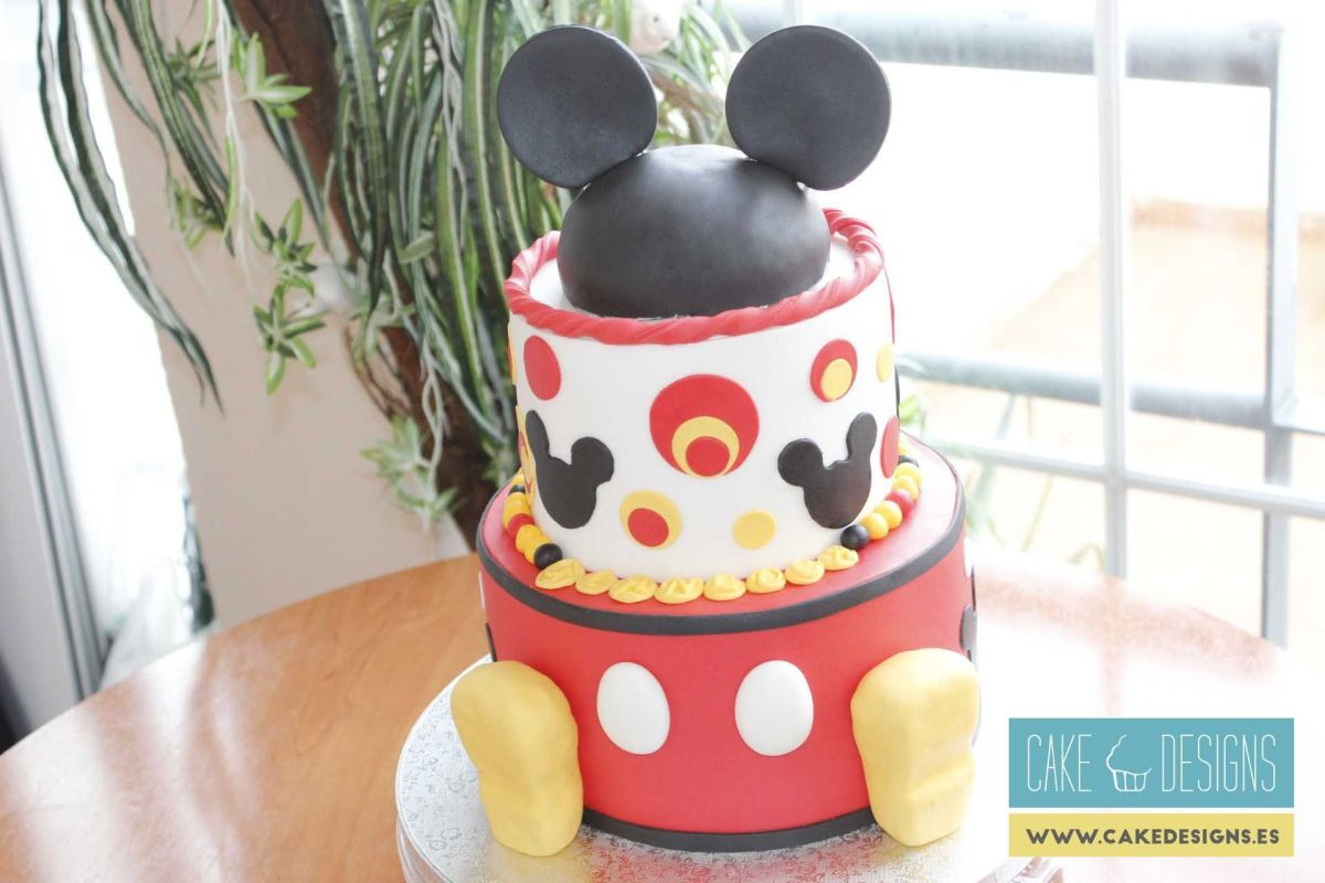 Tarta de Mickey Mouse