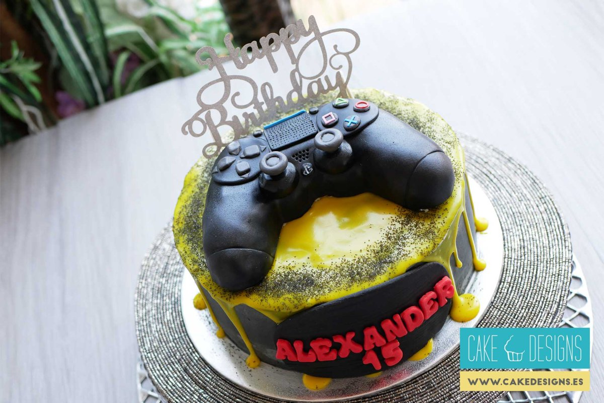 Tarta mando play station